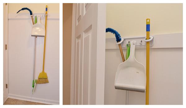 Laundry Room: Mop & Broom Storage