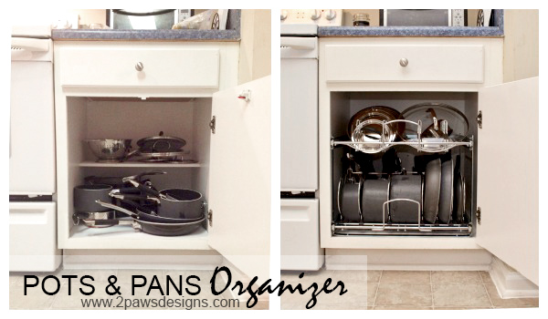 Pull Out Pots and Pans Organizer