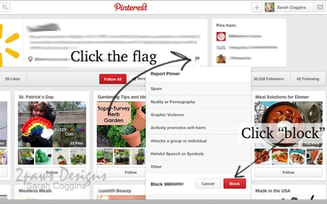 3 Simple Steps to Block Users on Pinterest: Step 1