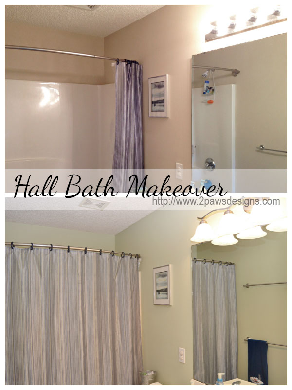 Hall Bath Makeover: Before & After