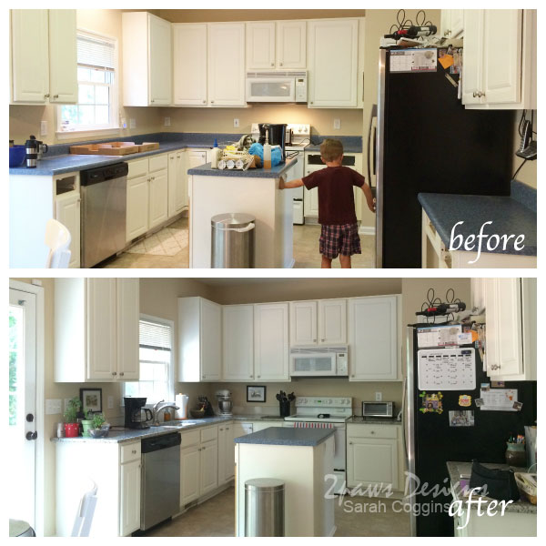 Kitchen Makeover: Counters Before & After