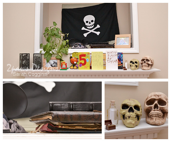 Pirate Birthday Party: Decorations