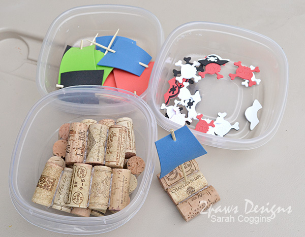 DIY Cork Boats: Supplies