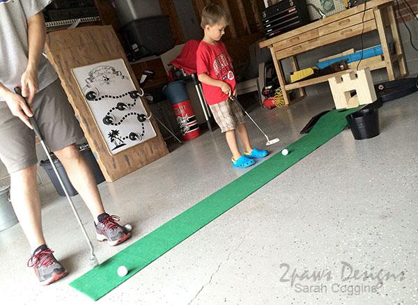 Summer Fun: Garage Putt-Putt