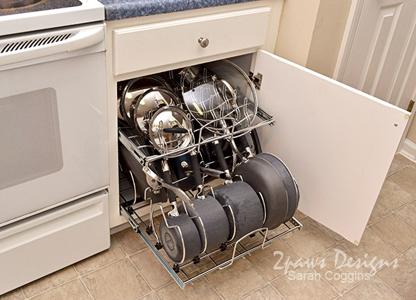 Pull Out Pots & Pans Organizer