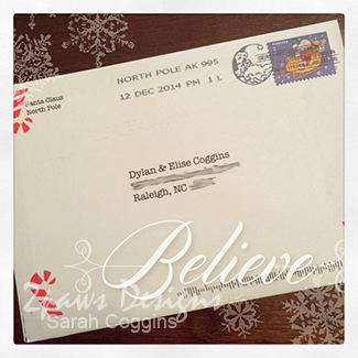 Postmarked the North Pole
