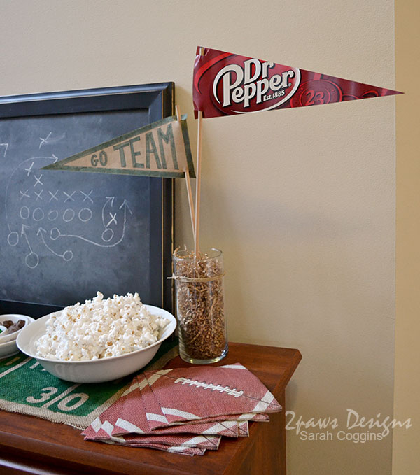 Dr Pepper Football pennants