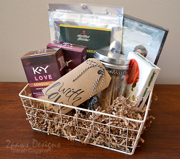 Couples Gift Ideas For Home: Sweetheart Date Night Gift Basket