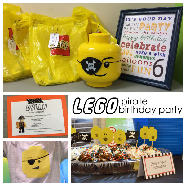 {simple} Lego Pirate Birthday Party