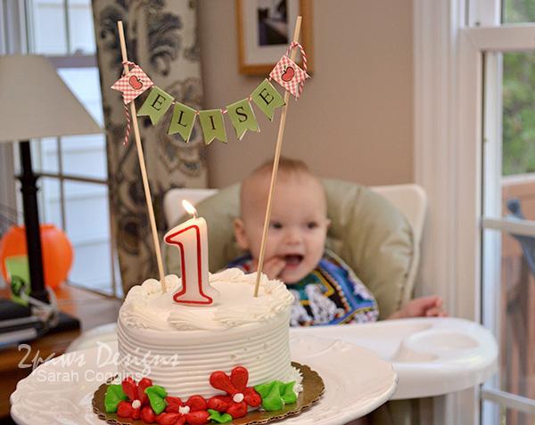 Elise's First Birthday: Cake
