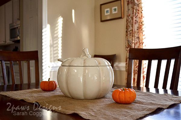 Pumpkin Palooza: Dining Room Decor