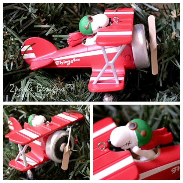 Hallmark's Snoopy Flying Ace Keepsake Ornament #LoveHallmark #PeanutsMovie
