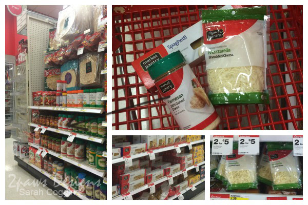Baked Spaghetti: Ingredients at Target #MinionsMovieNight #ad