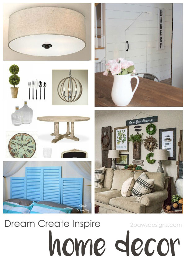 Dream Create Inspire: Home Decor Inspiration