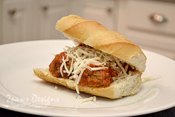 Meatball Subs with Nello's Sauce