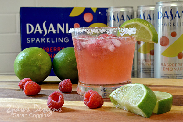 Raspberry Lemon-Lime Naptime Mocktail