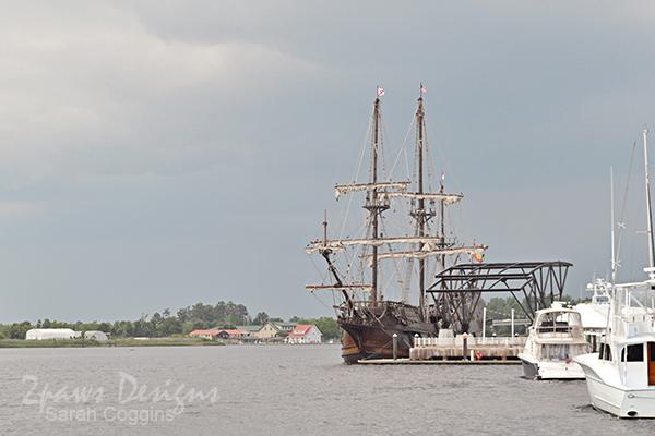 Tall Ship El Galeon - Wilmington, NC