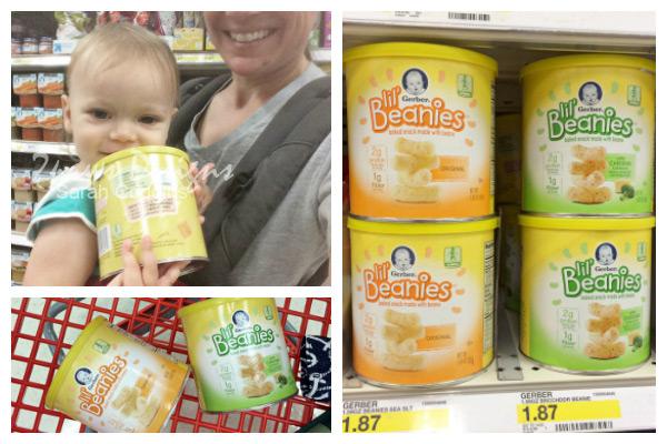 Gerber Lil' Beanies Cans at Target #GerberWinWin #ad