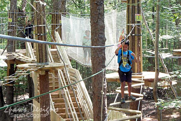 Go Ape Treetop Junior - Raleigh, NC