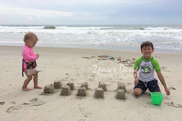 Beach Sandcastles 2016