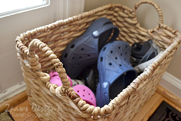 Foyer: Kids' Shoe Basket