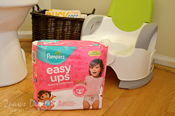 Potty Training with Pampers® Easy Ups™