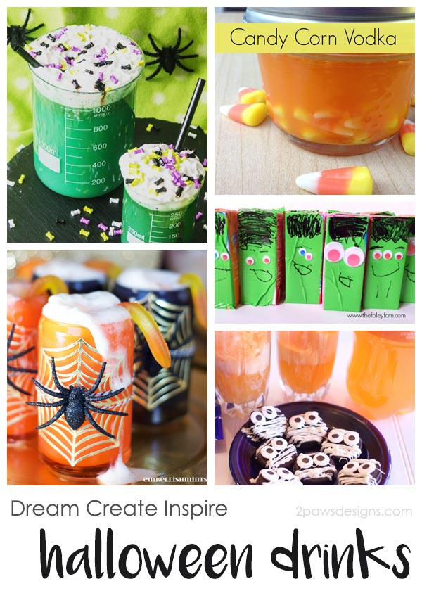 Dream Create Inspire: Halloween Drinks