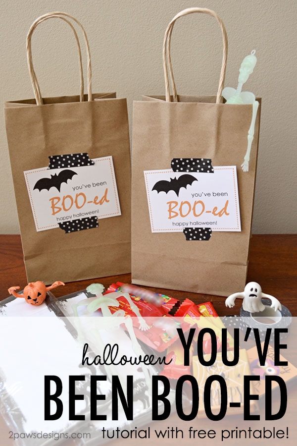 Friday Freebie: You've Been Boo-ed!