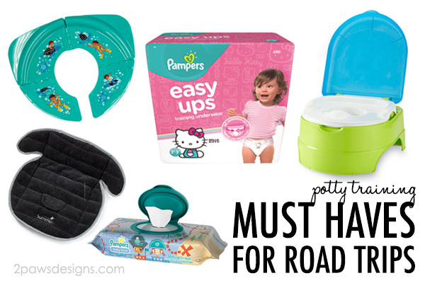 Potty Training Must Haves for Road Trips