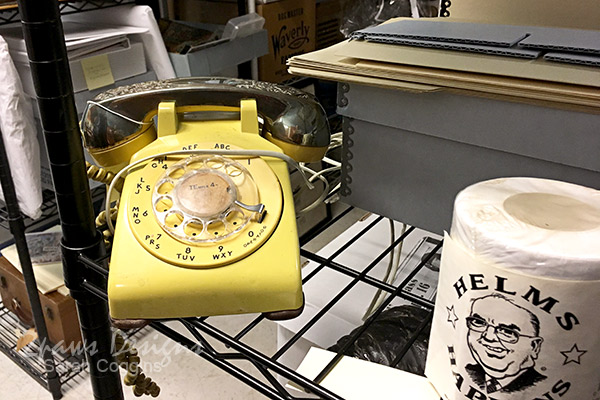 Project 52 Photos: Week 45 – Yellow Rotary Phone