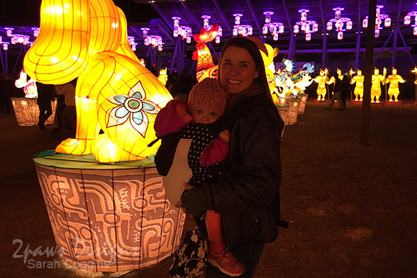 NC Chinese Lantern Festival: Watching the Show