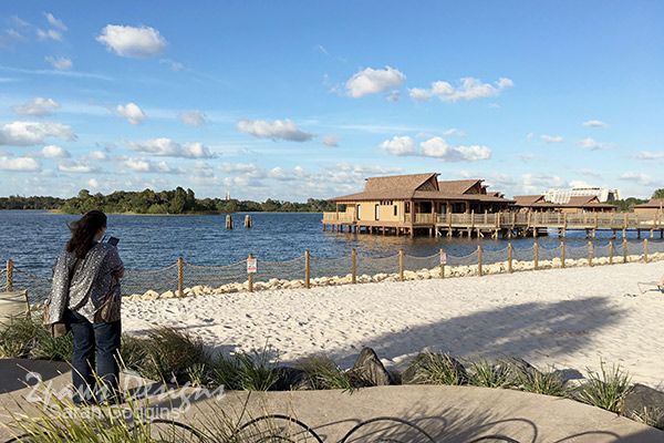 Disney's Polynesian Village Resort: Beach
