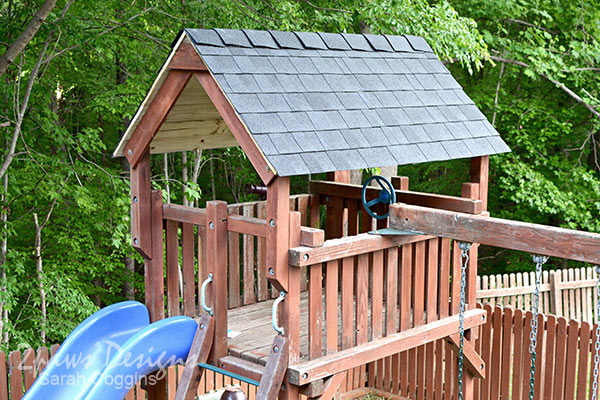 Playset: Installation of New Roof Shingles Complete #ad #RoofedItMyself