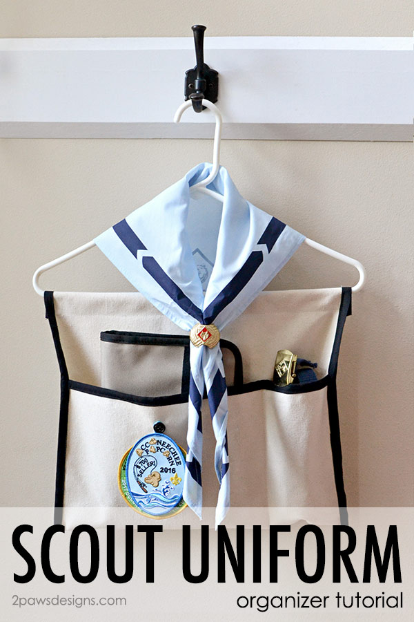 Scout Uniform Organizer Tutorial