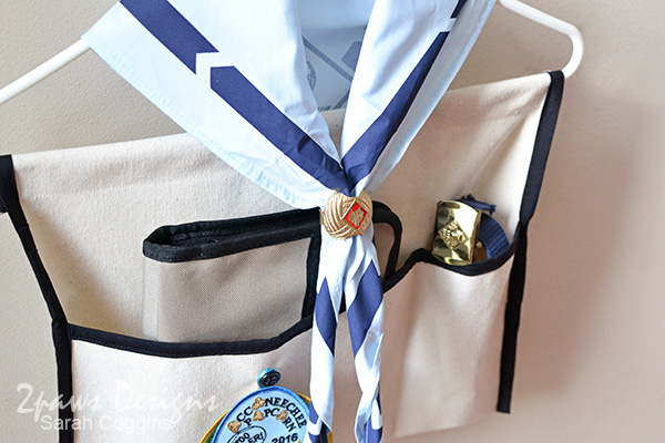 Scout Uniform Organizer