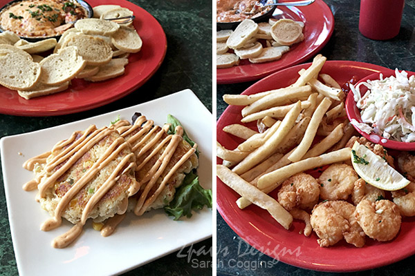 Amos Mosquito's Restaurant - Atlantic Beach: Meal
