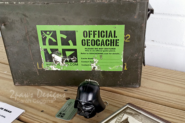 Geocache Southport with Darth Vader Trackable