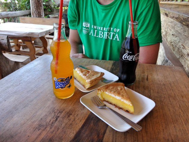 This is what 90P (< $3 CAD) gets you at the Sagada Lemon Pie House.