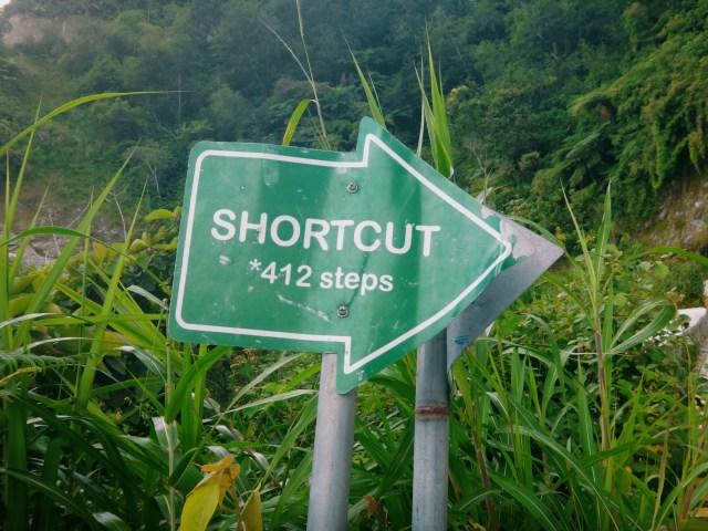 Worst shortcut ever.