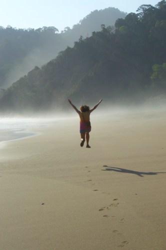 A very empty Sukamade beach.