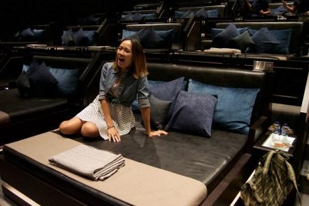 Movie theatre bed!!!