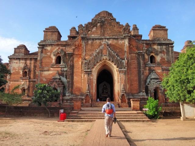 Dhammayangyi Temple.