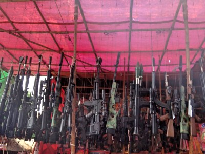 Toy guns for sale.