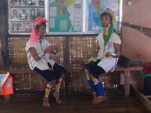 Padaung women.