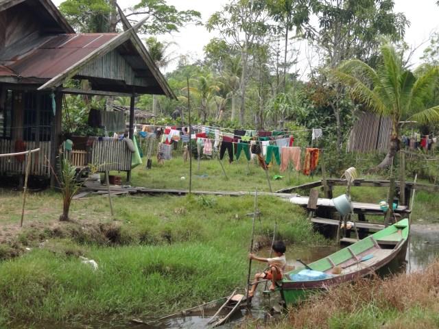 Tanjung Harapan Village.