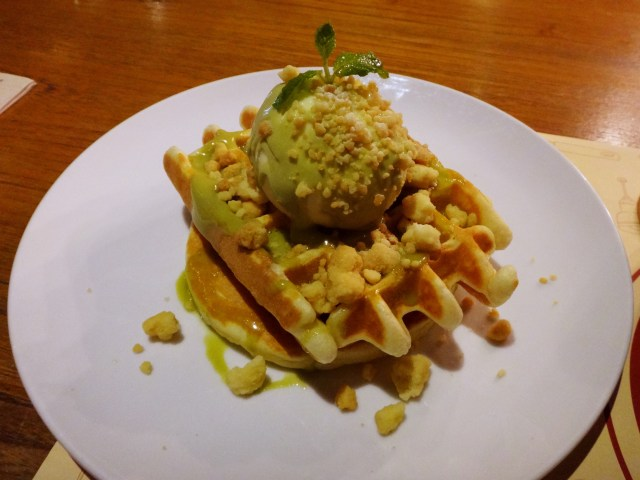 Mmmmm waffle.