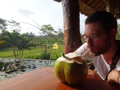 Coconut break.