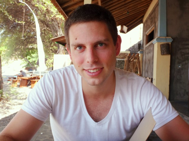 Clean-shaven Chris!