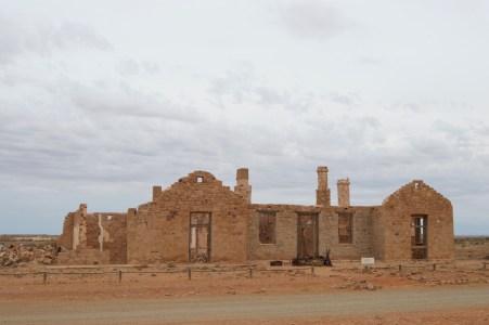 Old buildings in Farina.
