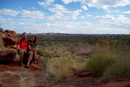 Palm Valley viewpoint!